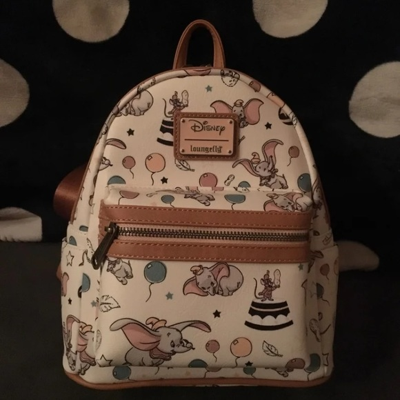 775f02673af Loungefly Handbags - NWT dumbo loungefly mini backpack